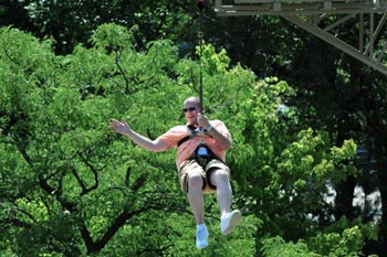 Sky Trail zip line photo
