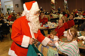 Breakfast & Lunch with Santa