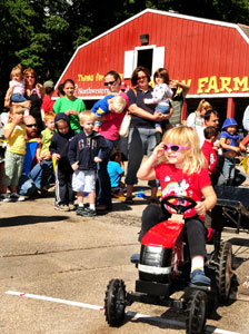 Pedal Tractor-Pull Contest sponsored by CNH Industries