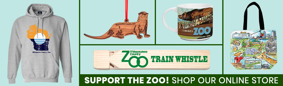 Support the Zoo! Shop our online store. - Click to return home